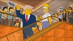 Des Simpson à Clinton, Trump se paie ses détracteurs pour fêter les 4 ans de sa