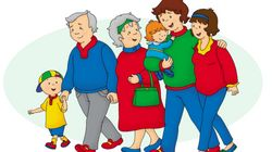 Has Caillou Been A Giant This Whole