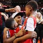 Many Of The Raptors Were Glad To Be Back In Toronto For Father's