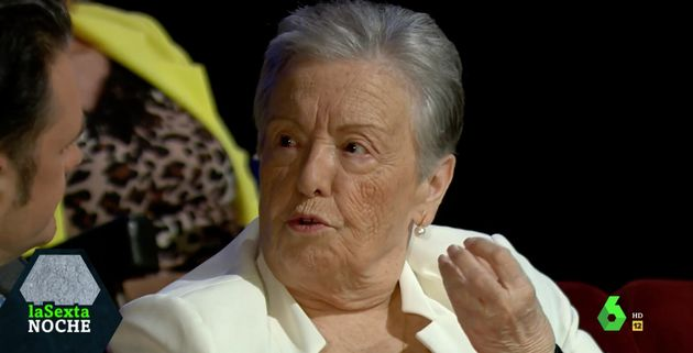 María Galiana ('Cuéntame cómo pasó') ataca a este partido político en su visita a 'La Sexta Noche':
