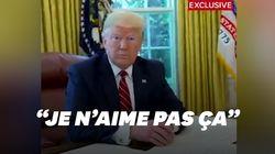 Trump n'a pas apprécié d'entendre son chef de cabinet tousser pendant une