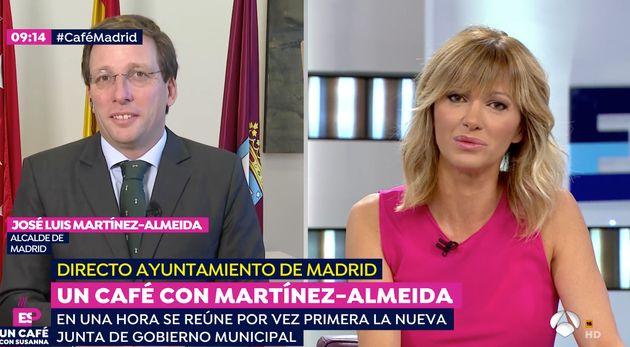Martínez-Almeida confirma la cesión de Juntas de Distrito a Vox: