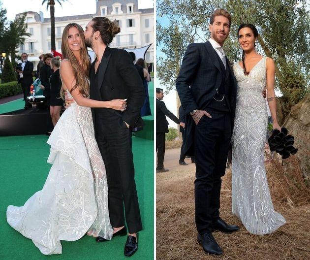 El vestido de novia de Pilar Rubio ya lo lució una conocida modelo en