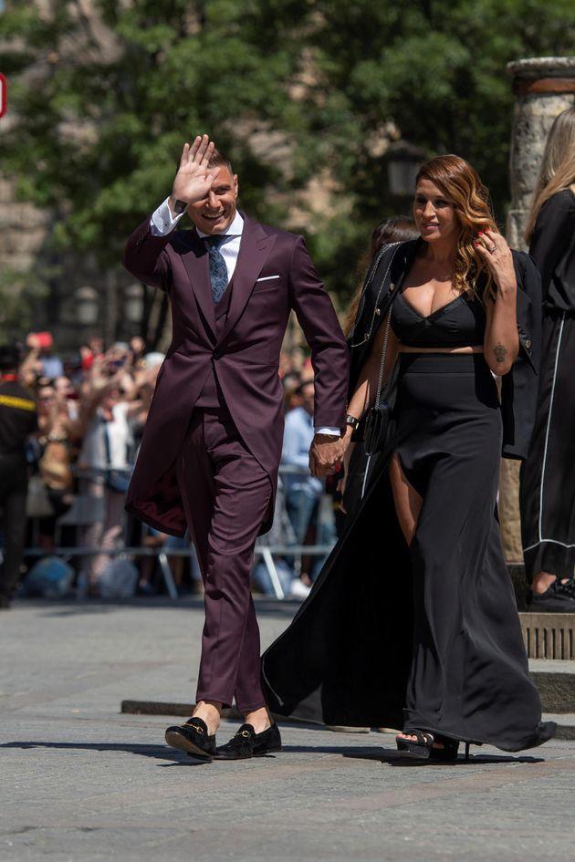 Los zapatos que Joaquín llevó a la boda de Sergio Ramos no dejan indiferente a