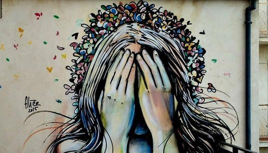 Il borgo molisano che resiste grazie alla street art. Alice Pasquini: