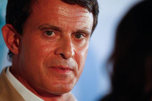 Manuel Valls (C's) y Javier Lambán (PSOE) dan una lección política con su conversación por