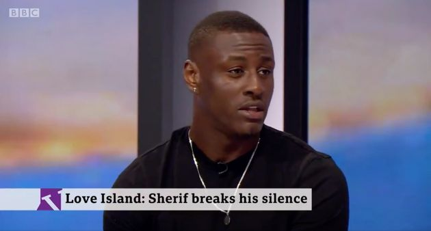 Love Island's Sherif Lanre Addresses Contrast In Show's Treatment Of Him And Ellie Brown After He's Removed For C-Bomb
