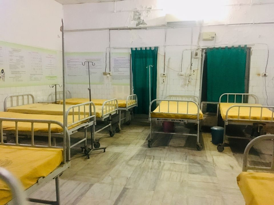 Empty beds at district hospital. This proves that right now Bihar needs trained doctors more than it...