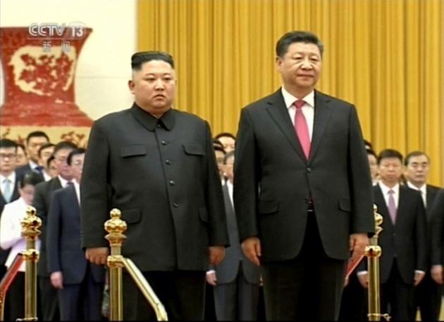 시진핑이 20일, 북한을