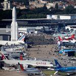 Aéronautique: Au Salon du Bourget, une délégation défend le dynamisme du secteur au