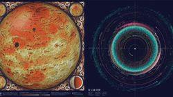 Cette étudiante américaine cartographie l'espace et c'est