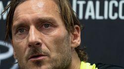 Francesco Totti lascia la Roma: