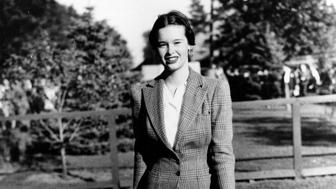 Railroad heiress Gloria Vanderbilt is seen in this undated photograph.  (AP Photo)