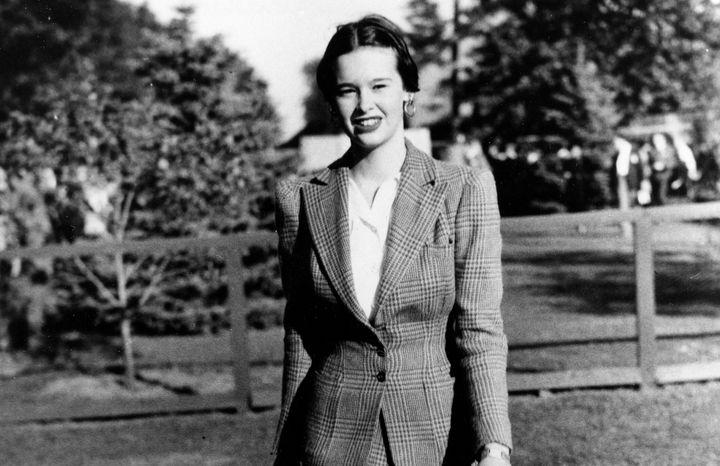 Gloria Vanderbilt in an undated photograph.