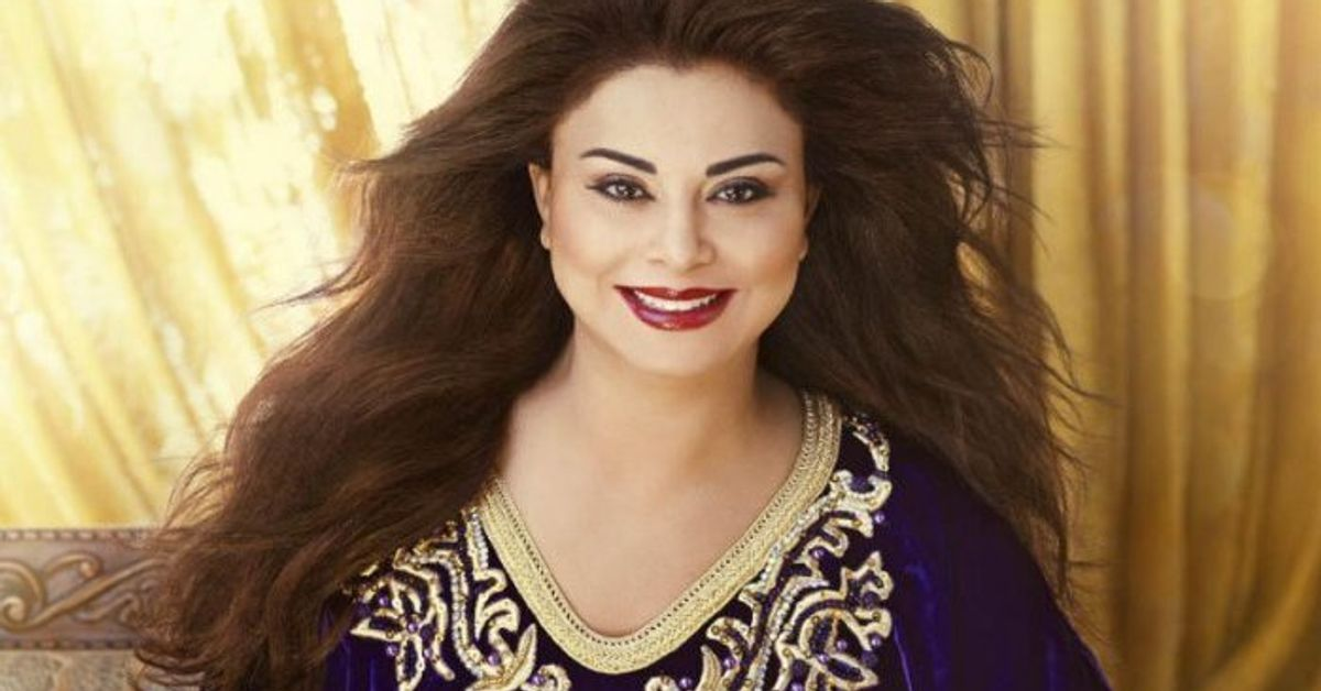 53 years old, Latifa Raafat pregnant with her first child