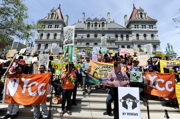 Protests urging the passage of the CCPA three years