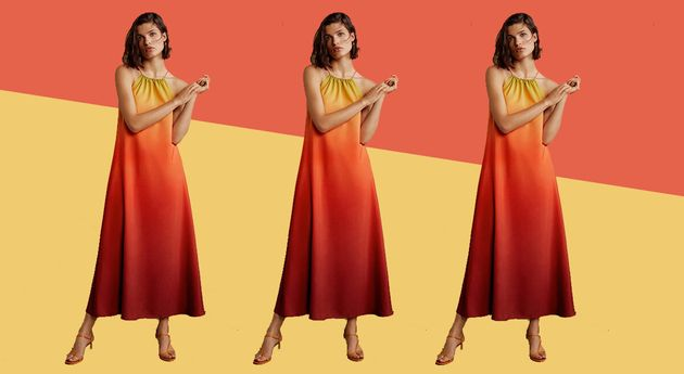 This Sold-Out Mango Dress Is Back In Stock – And It's The Perfect Wedding Guest Outfit