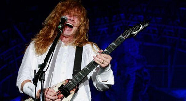 Dave Mustaine, líder del grupo 'Megadeth', padece cáncer de
