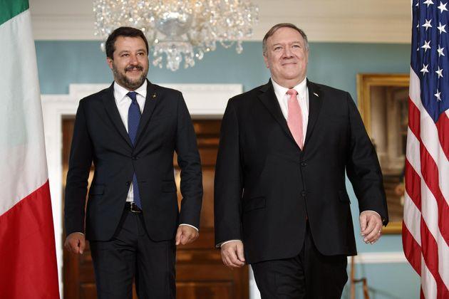 Salvini agli ordini di Trump