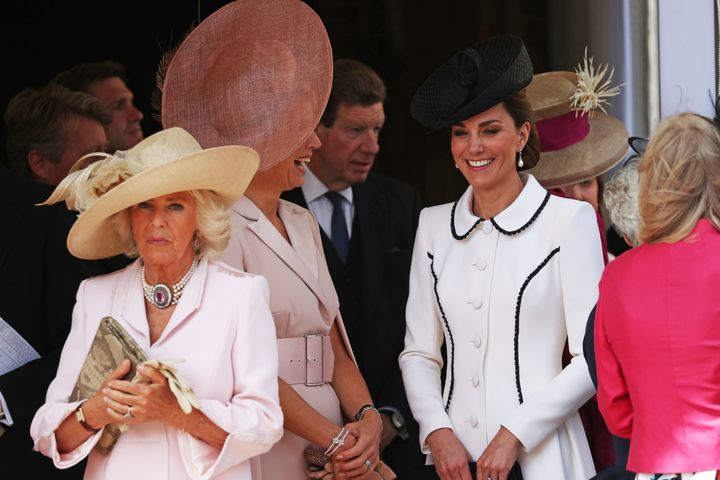 Camilla, Duchess of Cornwall also attended the ceremony.