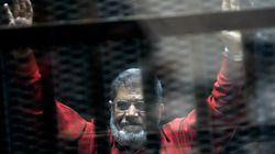 L'ancien président égyptien Mohammed Morsi est