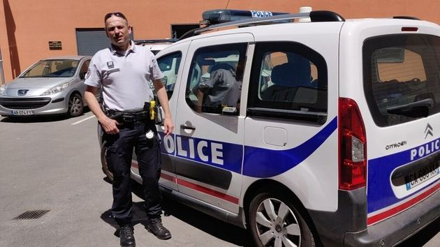 Christophe V., brigadier chef au commissariat d'Albi qui a conduit Loïc à son épreuve...