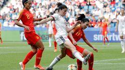 La selección femenina se clasifica para octavos del Mundial tras empatar con