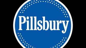 PILLSBURY logo, graphic element on black
