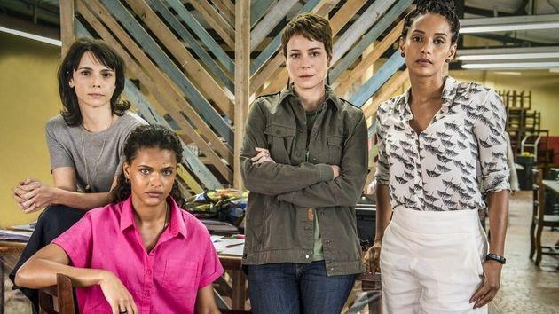 Na série, Debora Falabella,Thainá Duarte, Leandra Leal eTaís Araújo...