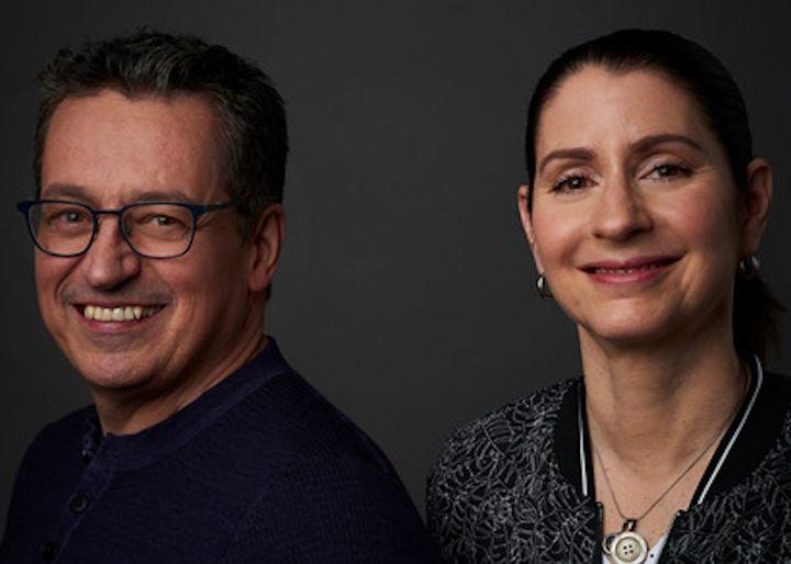 Normand Laprise et son associée Christine Lamarche.