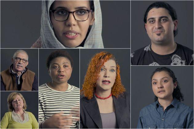 Varios de los refugiados entrevistados por