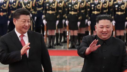 시진핑 중국 국가 주석이 북한을