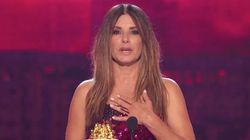 Sandra Bullock Says She Was 'Put On This World To Protect' Her Kids At MTV Movie