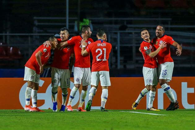 일본이 '코파 아메리카' 첫 경기에서 칠레에 0-4