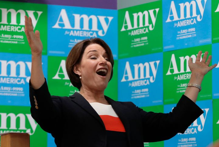 Minnesota Sen. Amy Klobuchar rolled out a 16-page plan indicating how she would spend her political capital early on in her p