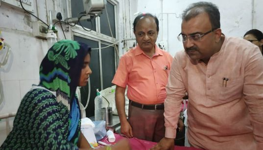 Bihar Health Minister Got Exclusive Ambulance, Doctor As Kids Died Of