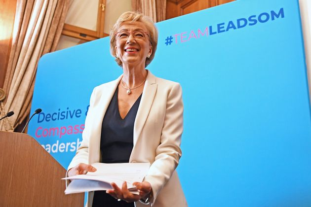 Andrea Leadsom Endorses Boris Johnson For Conservative Party Leader
