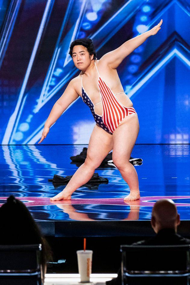 『アメリカズ・ゴット・タレント』に出演したお笑いタレント・ゆりやんレトリィバァさん
