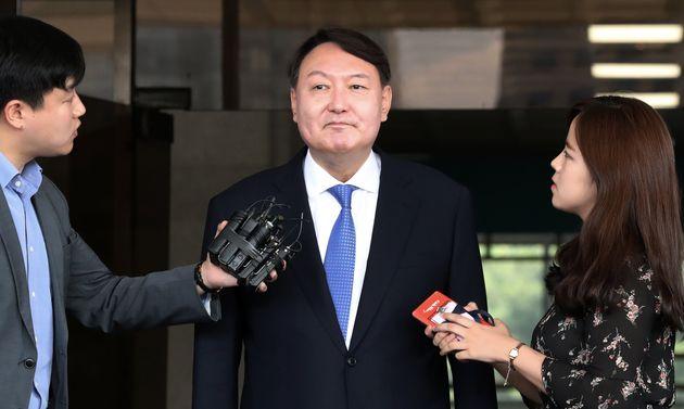 윤석열 검찰총장 후보자의 아내 김건희 대표가 네이버 실검에 오른