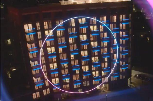 L'immeuble londonien où se déroule