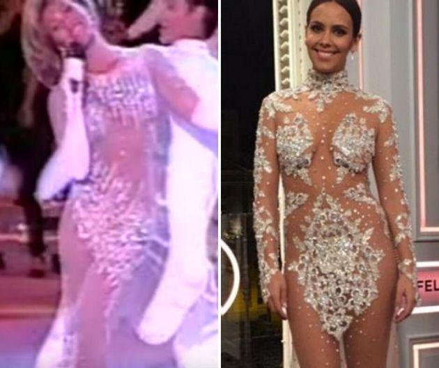 Los cuatro vestidos que demuestran que Norma Duval ya vestía como Cristina