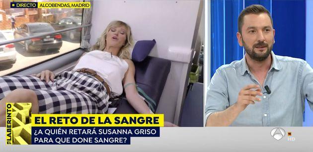 Momento insólito en 'Espejo Público' (Antena 3): Susanna Griso abandona el programa en pleno