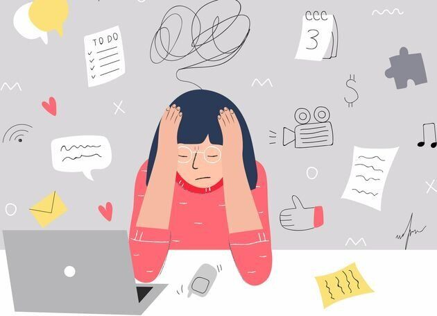 15 síntomas físicos del estrés de los que (seguro) no has oído