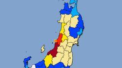 新潟県で震度6強 山形、新潟、佐渡、石川県能登に津波注意報が発令「沿岸ではただちに津波が来襲すると予想される」