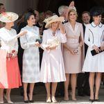 Une brochette impressionnante de princesses réunies à