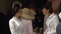 El ¿feo? de Kate Middleton a Letizia da la vuelta al mundo: ¿por qué hizo ese