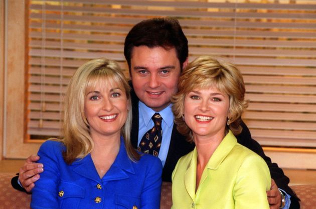 Fiona, Eamonn and Anthea in the '90s (Anthea's latest statements do not relate to these two