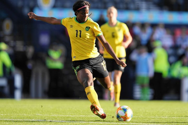 Bunny Shaw, who plays club soccer in France, is one of Jamaica's biggest stars, proof that the country has the talent to comp