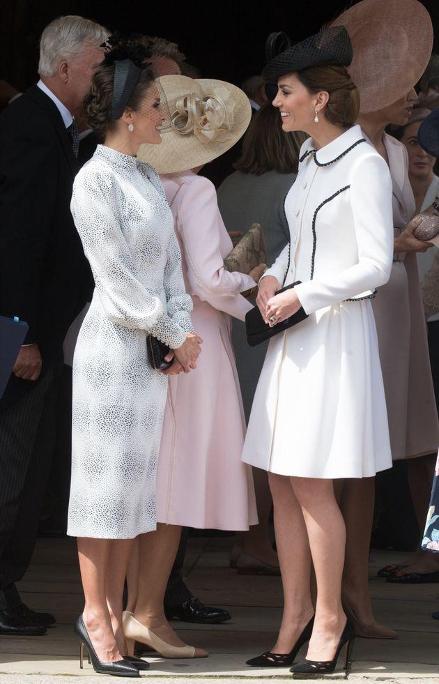 Letizia d'Espagne et Kate