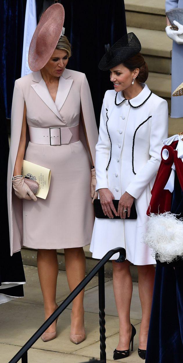 Maxima des Pays-Bas et Kate